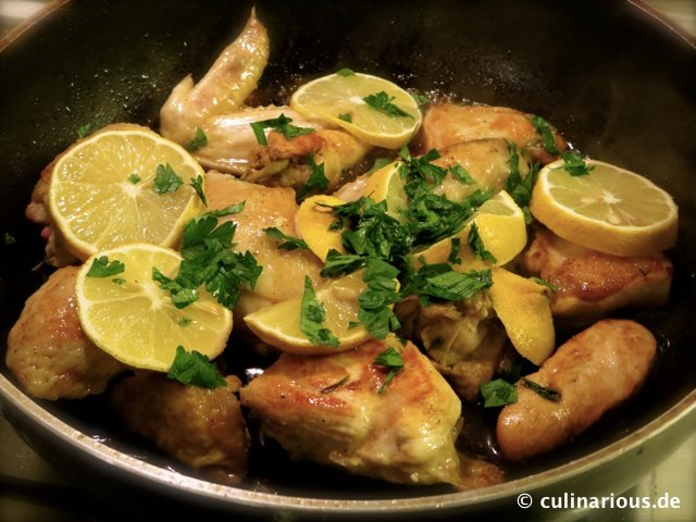 Sticky Lemon Chicken